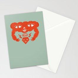 Cloud and Diamond II Stationery Cards