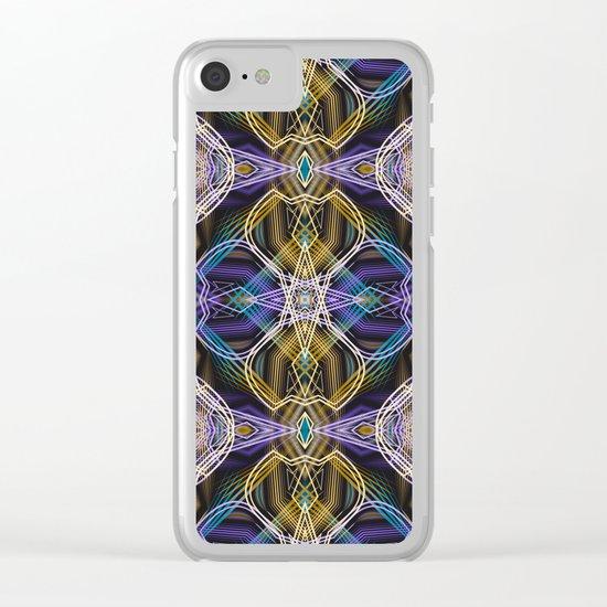 "Art Deco ."" Rafael "" Clear iPhone Case"
