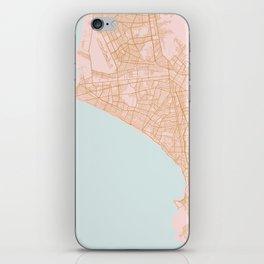 Lima map, Peru iPhone Skin