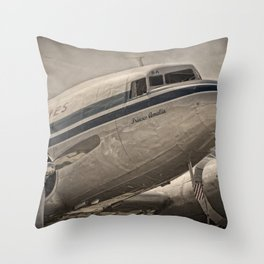 Douglas DC-3 Dakota Throw Pillow