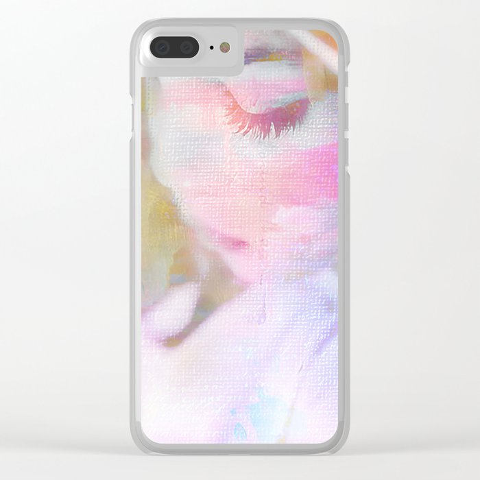 The day mom left Clear iPhone Case