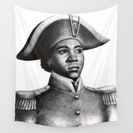 Suzanne Béliar, Haitian Freedom fighter Wall Tapestry