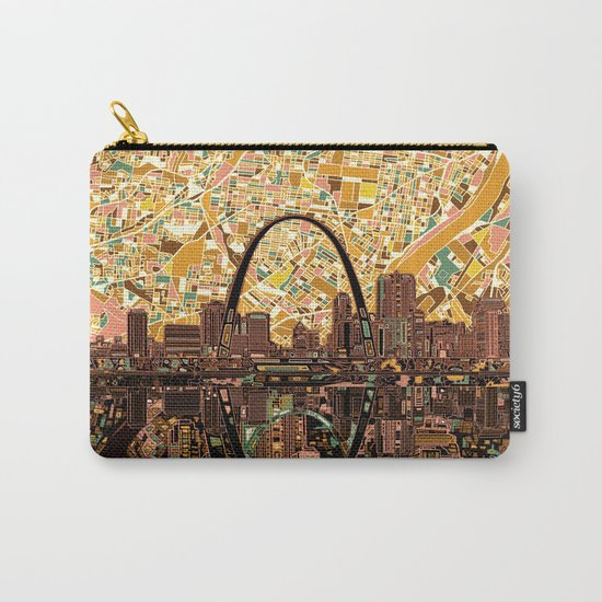 st louis city skyline Carry-All Pouch