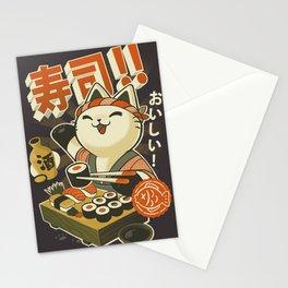Cat Sushi Stationery Cards