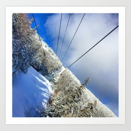 Bluebird Day Art Print