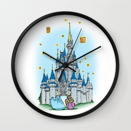 The New Dream is a Wish Your Heart Makes. Wall Clock