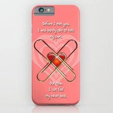 Clip Heart Valentine Slim Case iPhone 6s