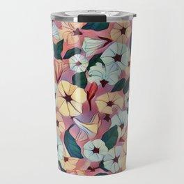 Pretty Petunias Travel Mug