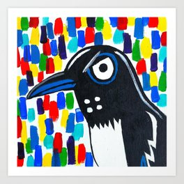 The Mighty Boosh: Peacock and the Magpie Series (2 of 2) Art Print