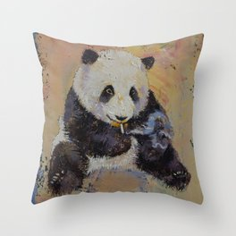 Cigarette Break Throw Pillow