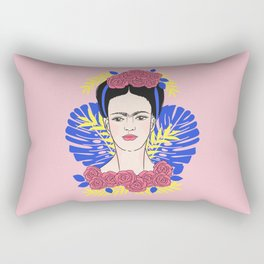 Tribute to Frida #1 Rectangular Pillow