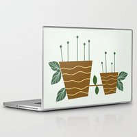 plants Laptop & iPad Skins featuring plants by aticnomar