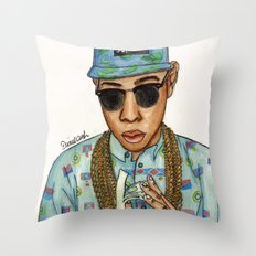 Tyler, The Creator Throw Pillow