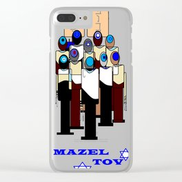 A Celebration of Bar Mitzvah Clear iPhone Case