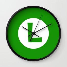Nintendo Luigi Wall Clock