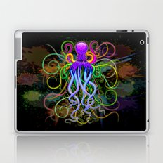 Octopus Psychedelic Luminescence Laptop & iPad Skin