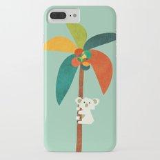 Koala on Coconut Tree iPhone 7 Plus Slim Case