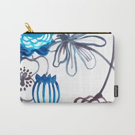 Blue-Seeded Carry-All Pouch