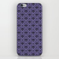 haunted mansion iPhone & iPod Skins featuring Haunted Mansion Wallpaper by MiliarderBrown