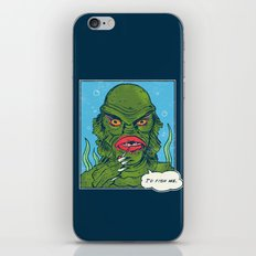 The Sultry Lagoon iPhone & iPod Skin
