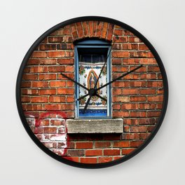 Our Lady of the Window  Wall Clock
