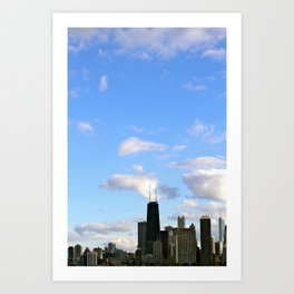 Chicago Sky Art Print
