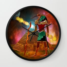Ancient Secrets THOTH 3D Scifi Egyptian Wall Clock