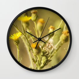 Yellows&Oranges Wall Clock
