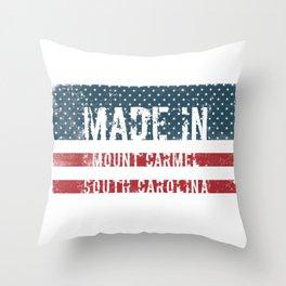 Made in Mount Carmel, South Carolina Throw Pillow