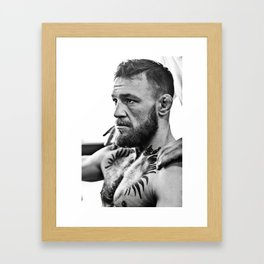 Conor McGregor Notorious Framed Art Print