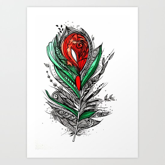Flower Lover Art Print