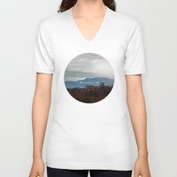 wander V-neck T-shirts featuring Wander by Brandy Coleman Ford