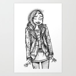 Roth-Laughter Art Print