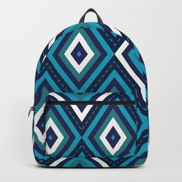 Blue Diamonds Backpack