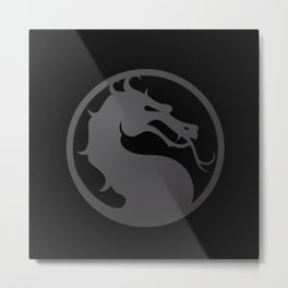 dragon kombat Metal Print