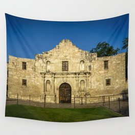 Empty Alamo Wall Tapestry