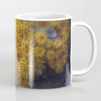 coral Mugs featuring Coral by Deborah Janke