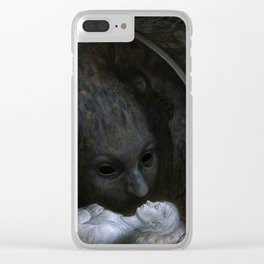 Paralyzed Clear iPhone Case