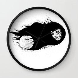 Tenebris Lunam Wall Clock