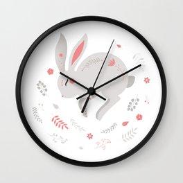 rabbit Wall Clock