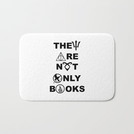They Are Not Only Books Bath Mat