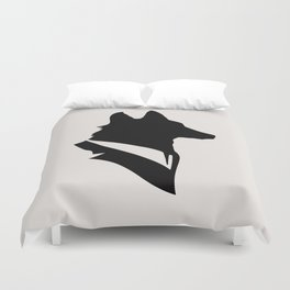 Monsieur Renard / Mr Fox - Animal Silhouette Duvet Cover