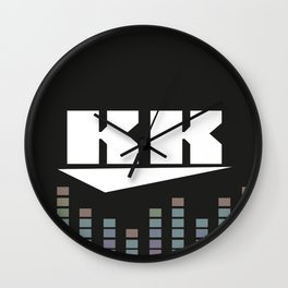 DJ KK v2 Wall Clock