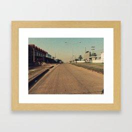 Streets #2 Framed Art Print