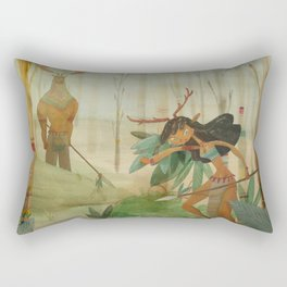 Mundos perdidos Rectangular Pillow