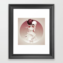 Wonderlost - Cheshire Cat Framed Art Print