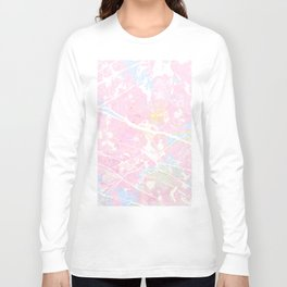 Pastel Candy Pollock marble Long Sleeve T-shirt