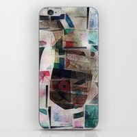 kandinsky iPhone & iPod Skins featuring whale in reassembled Kandinsky by Osome Beamer