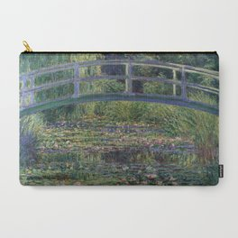 Water Lilies and the Japanese Bridge by Claude Monet Carry-All Pouch