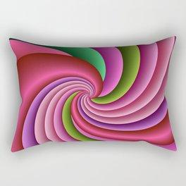 fluid -51- Rectangular Pillow